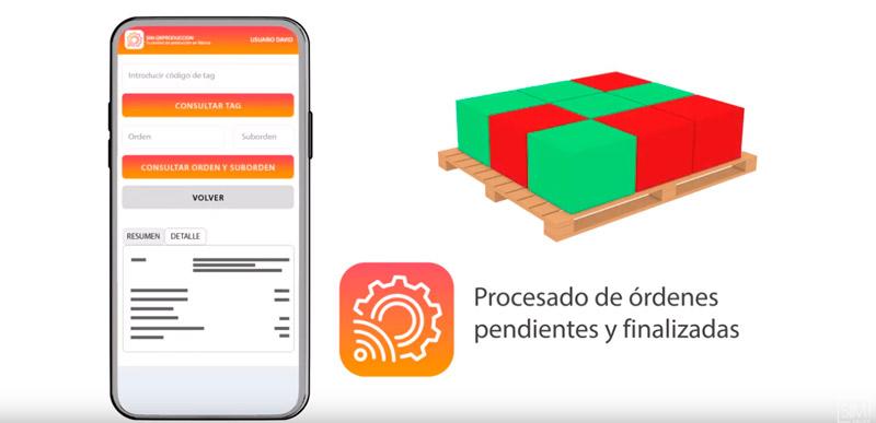 app control de fabricación